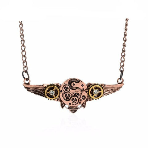 Pendant Necklaces - Vintage Steampunk-Style Necklaces & Pendants