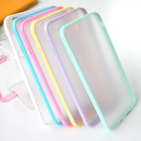 Phone Bags & Cases - Slim Colorful Foxy TPU Clear Case For IPhone 6, 6S, 6S Plus