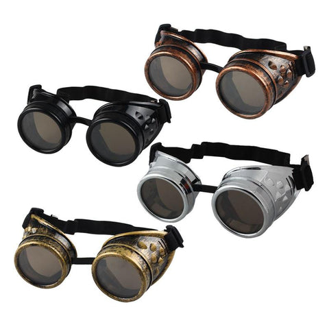 Sunglasses - Vintage Steampunk-Style Goggles