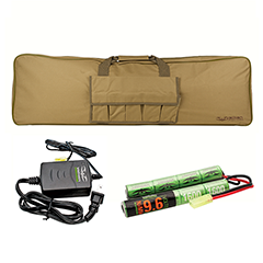 Valken Energy Battery, Smart Charger, and Gun Bag Combo