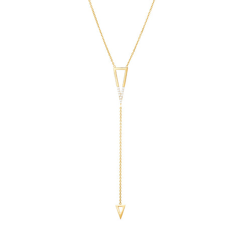 DELTA JOUR duo necklace