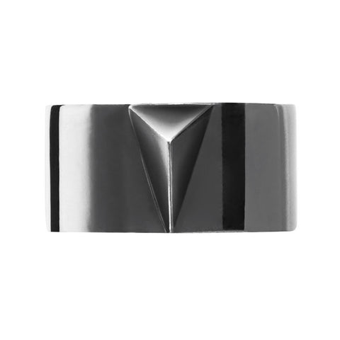 DELTA Unisex Arrow Ring Silver