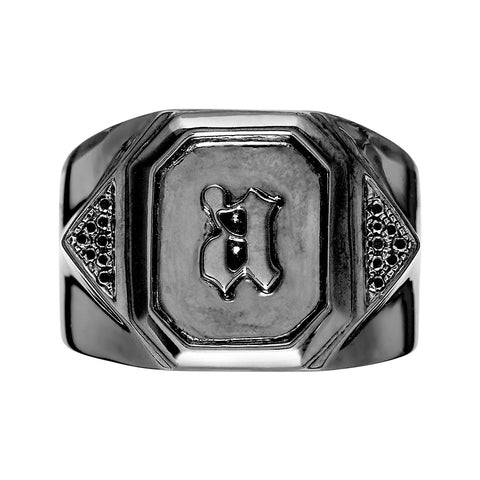 DELTA Unisex Arrow Ring Black