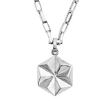 DELTA Unisex Star Necklace Silver