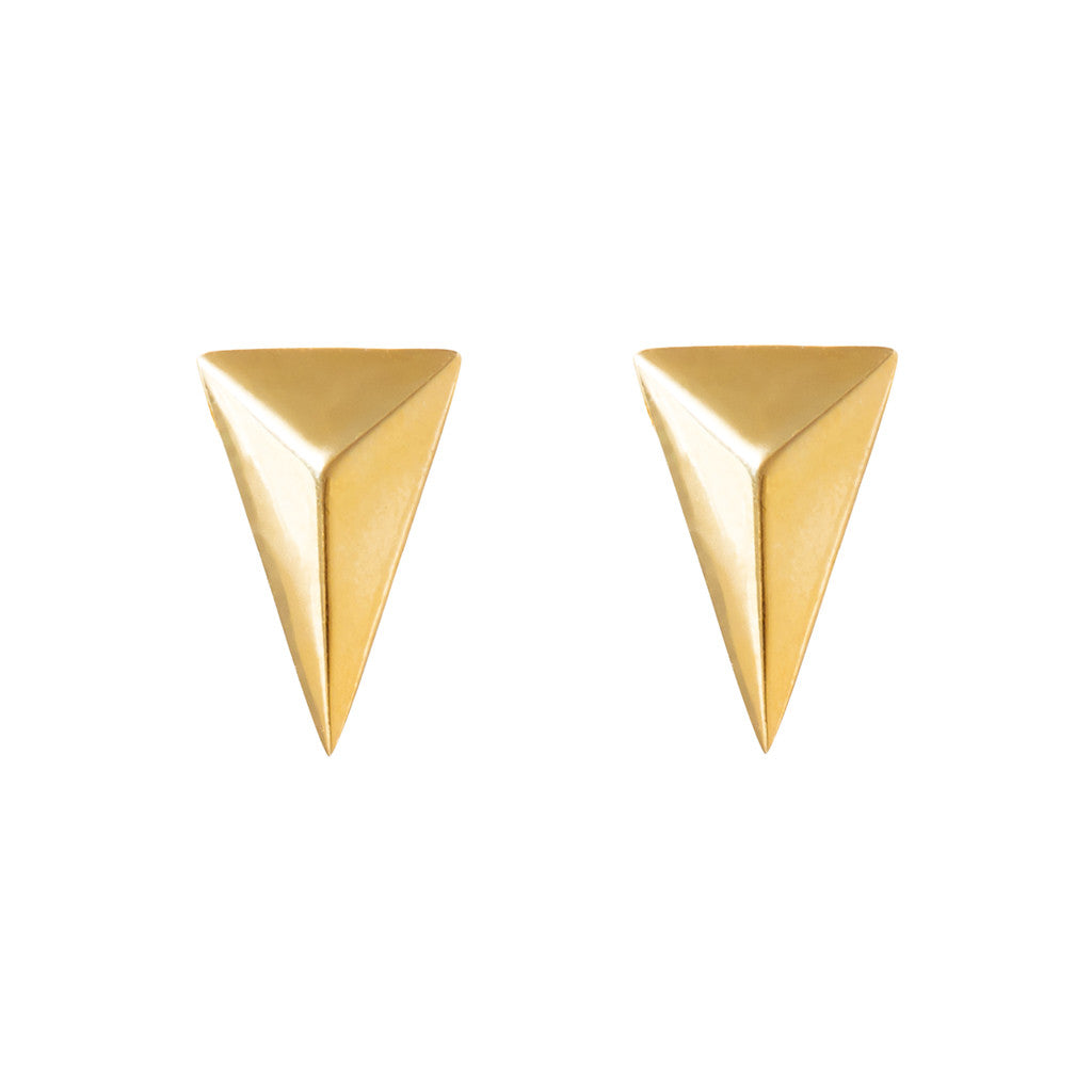Signature arrow studs 925 sterling silver from MAYAYUEN DELTA collection