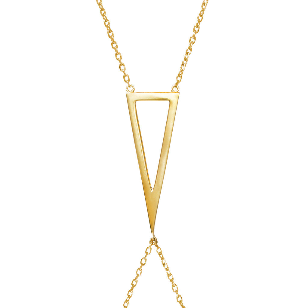 Signature 925 sterling silver body chain from MAYAYUEN DELTA collection
