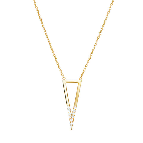 DELTA Unisex Star Necklace Black