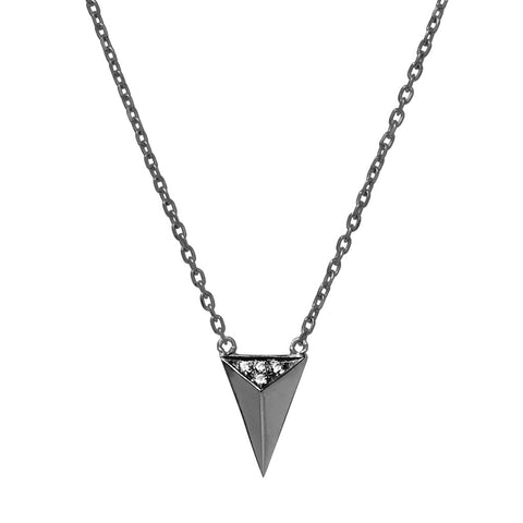 DELTA triangle necklace