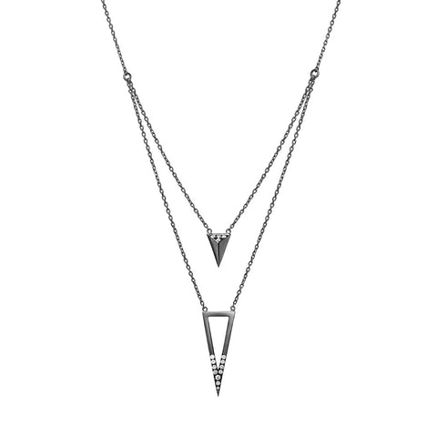 DELTA JOUR triangle necklace