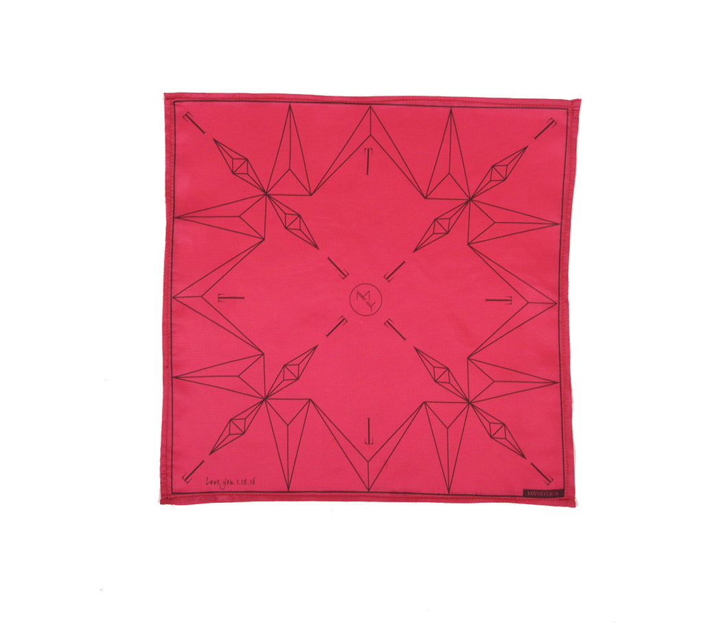 X-OVER Project: CUFFS x MAYAYUEN Delta Pocket Square - The Icon