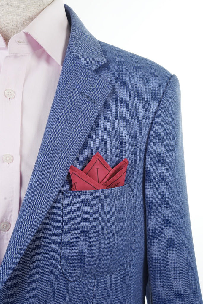X-OVER Project: CUFFS x MAYAYUEN Delta Pocket Square - The Gentleman