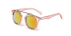 Wire Framed Modern Cat Eye Sunglasses