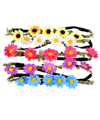 Flower Crown Headbands - Assorted Colors