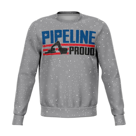 Pipeline Proud Christmas Printed Ugly Sweatshirt!