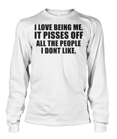 I Love Being Me Unisex Long Sleeve