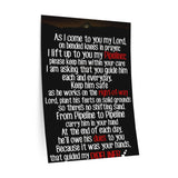 Guide My Pipeliner Prayer Wall Decals
