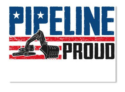 Pipeline Proud Sticker