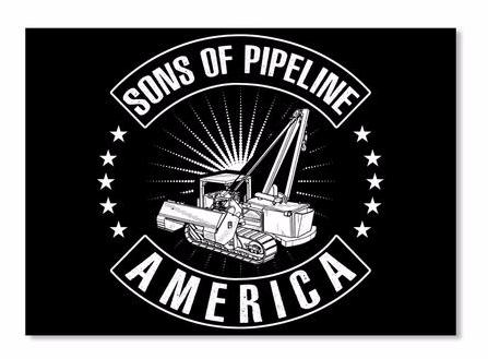 Sons of Pipeline America Sticker!