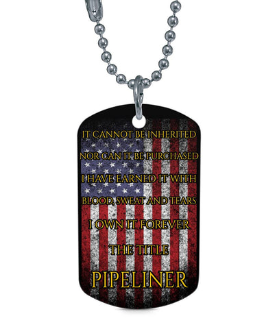 The Title Pipeliner Dog Tags Dog Tag