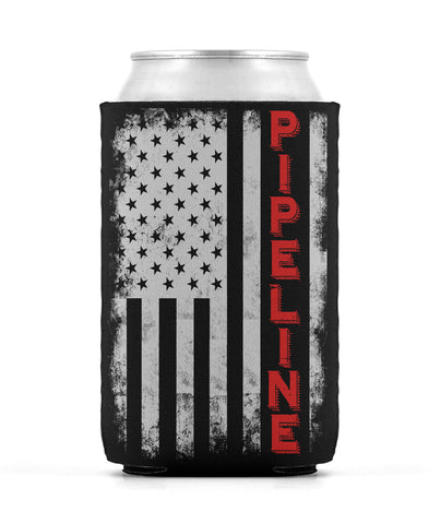 Pipeline Flag Can Sleeve