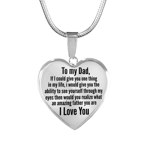You're an Amazing Father Necklaces!