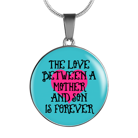 """Mother - Son - Love"" 18K Gold/Silver Necklace & Bangles!"