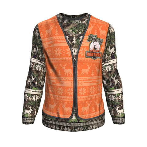 """Merry Huntmas"" Hunting Ugly XMAS Sweatshirt"