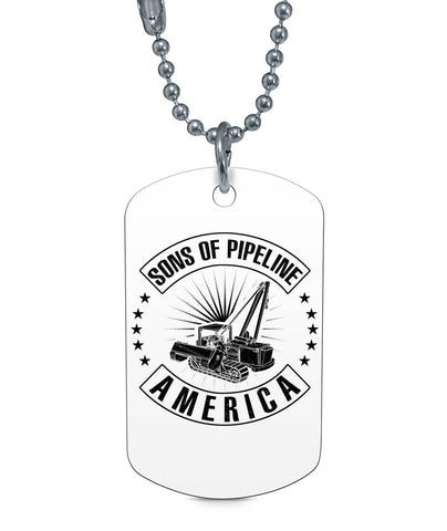 Sons of Pipline Dog Tag