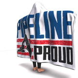 Pipeline Proud Hooded Blanket