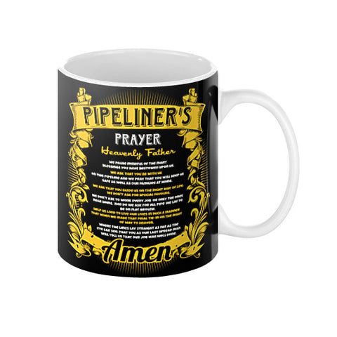 Pipeliner Prayer Coffee Mugs! - Pipeline Proud - 1