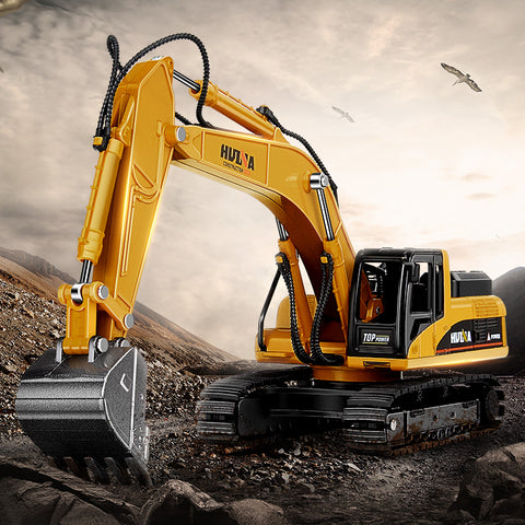 1:50 Alloy Excavator Demolition Truck Toys