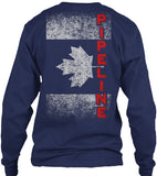 Canadian Pipeline Flag Shirt! - Pipeline Proud - 13