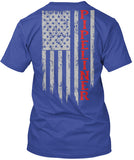 Pipeliner US Flag Shirt! - Pipeline Proud - 17