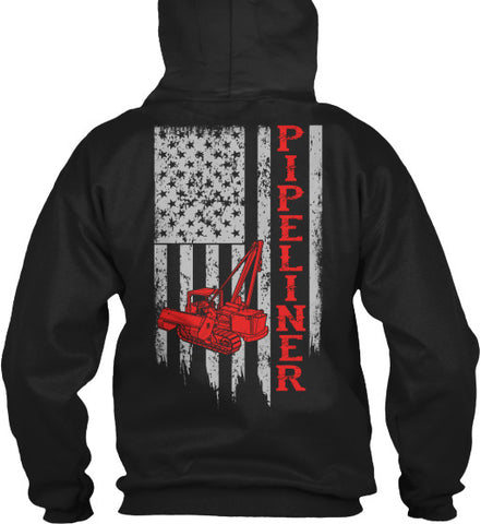 American Pipeliner Flag Shirt! - Pipeline Proud - 1