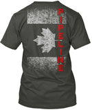 Canadian Pipeline Flag Shirt! - Pipeline Proud - 7