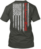 Pipeliner US Flag Shirt! - Pipeline Proud - 21