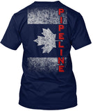 Canadian Pipeline Flag Shirt! - Pipeline Proud - 1