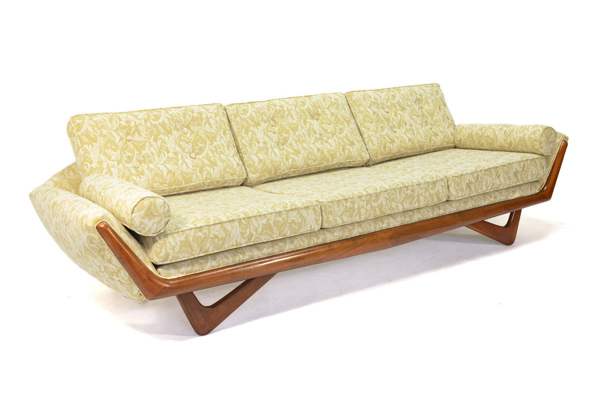 ... Adrian Pearsall Gondola Sofa And Lounge Chair Set ...