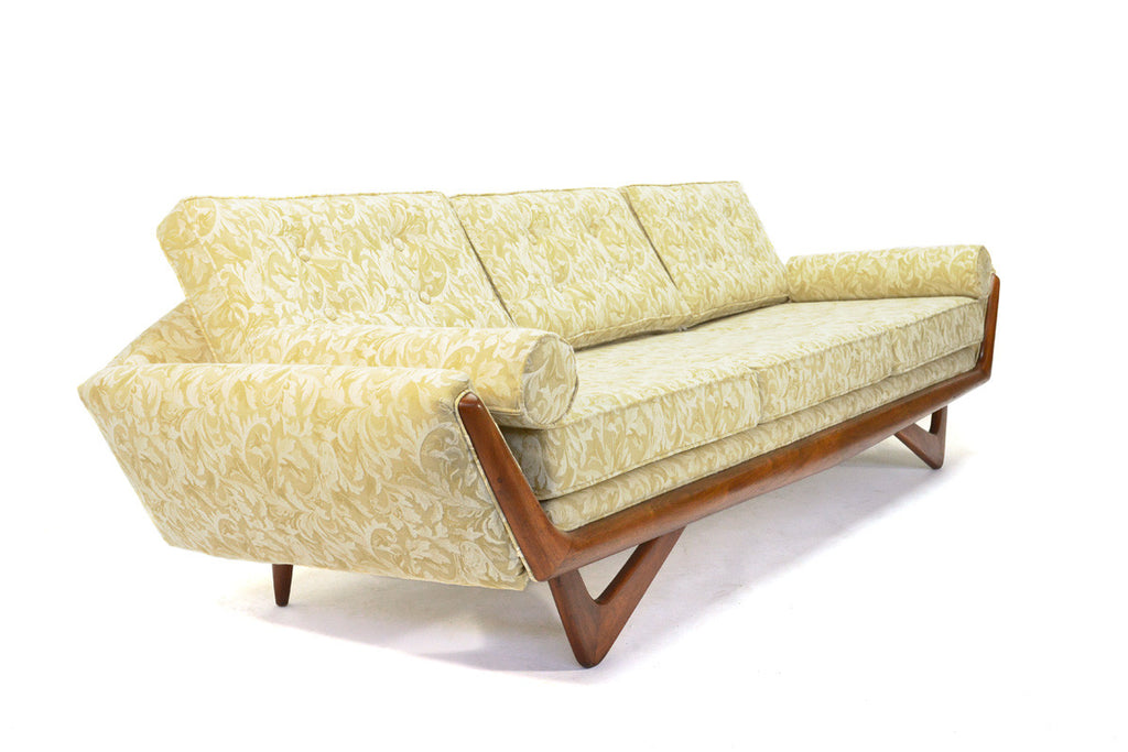 Adrian Pearsall Gondola Sofa and Lounge Chair Set