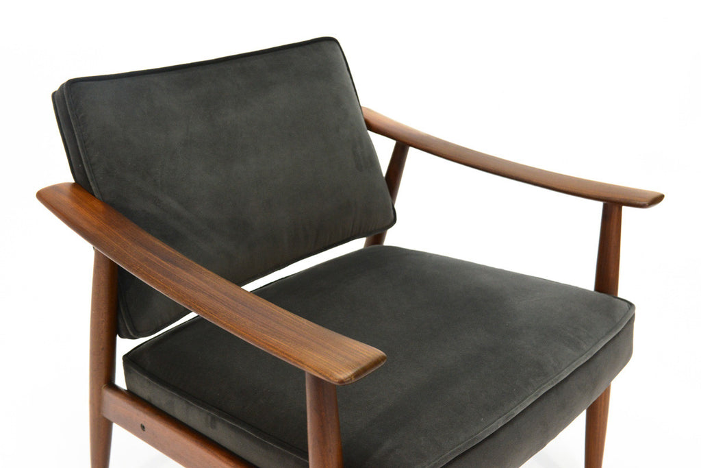 Pair of Danish Teak Lounge Chairs