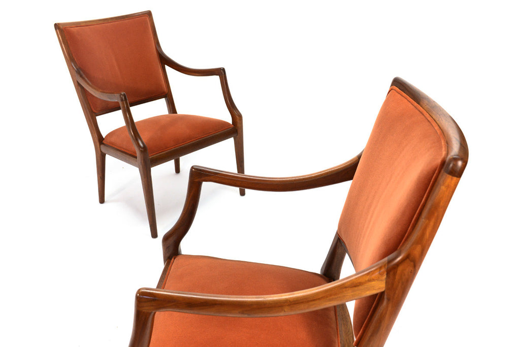 "Pair of ""Grand Haven"" Lounge Chairs by the Jamestown Lounge Company"