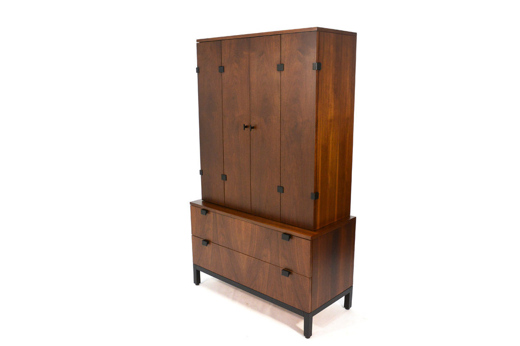 Walnut Armoire by Kipp Stewart for Directional