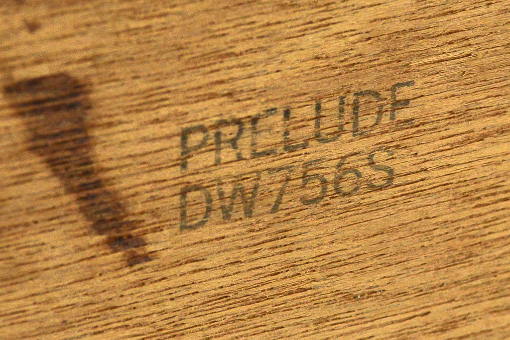 Solid Walnut Seven Drawer Dresser by Prelude