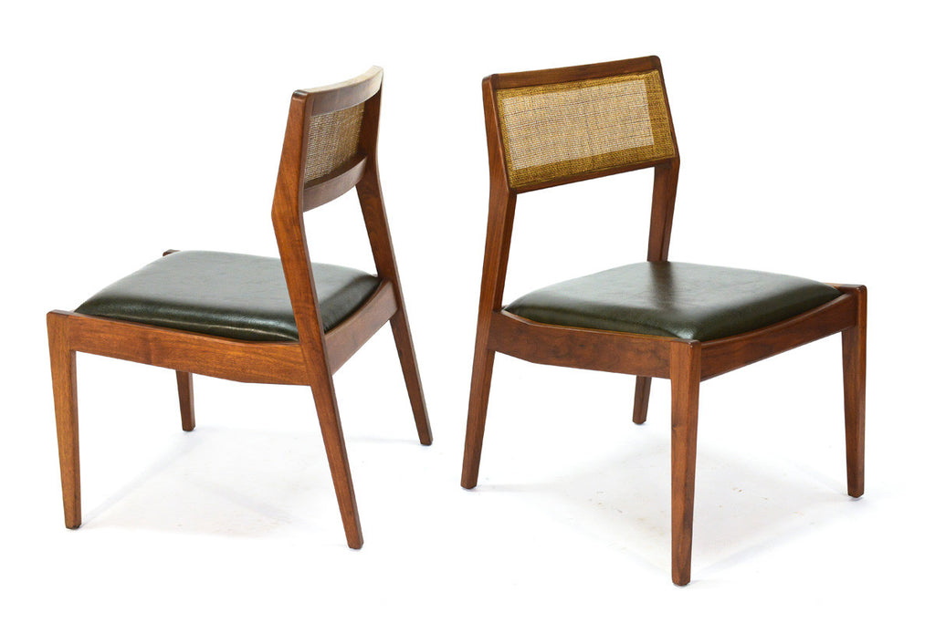 Set of Eight Jens Risom 'Playboy' Dining Chairs