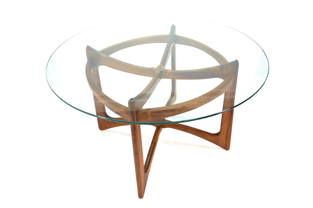 Sculptural Walnut Dining Table by Adrian Pearsall