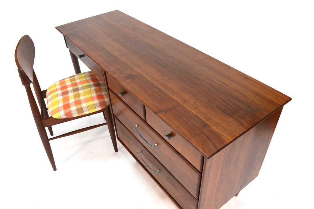 Solid Walnut Desk with Matching Chair by Prelude