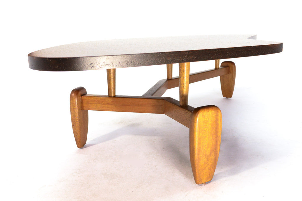 Outrigger Coffee Table by John Keal for Brown Saltman