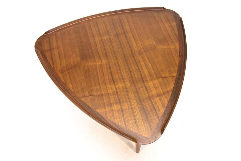 Triangular Side Table by Poul Jensen for Selig