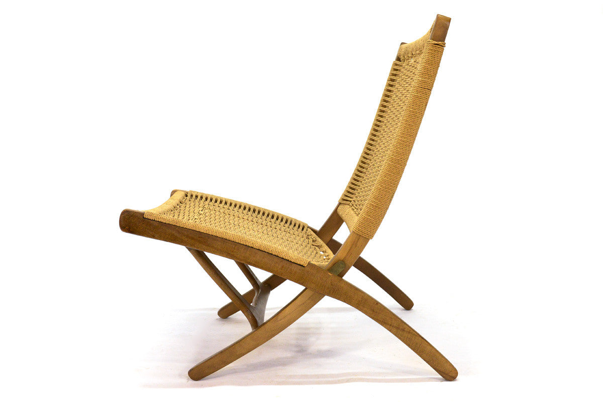 ... Hans Wegner Style Folding Lounge Chair ...