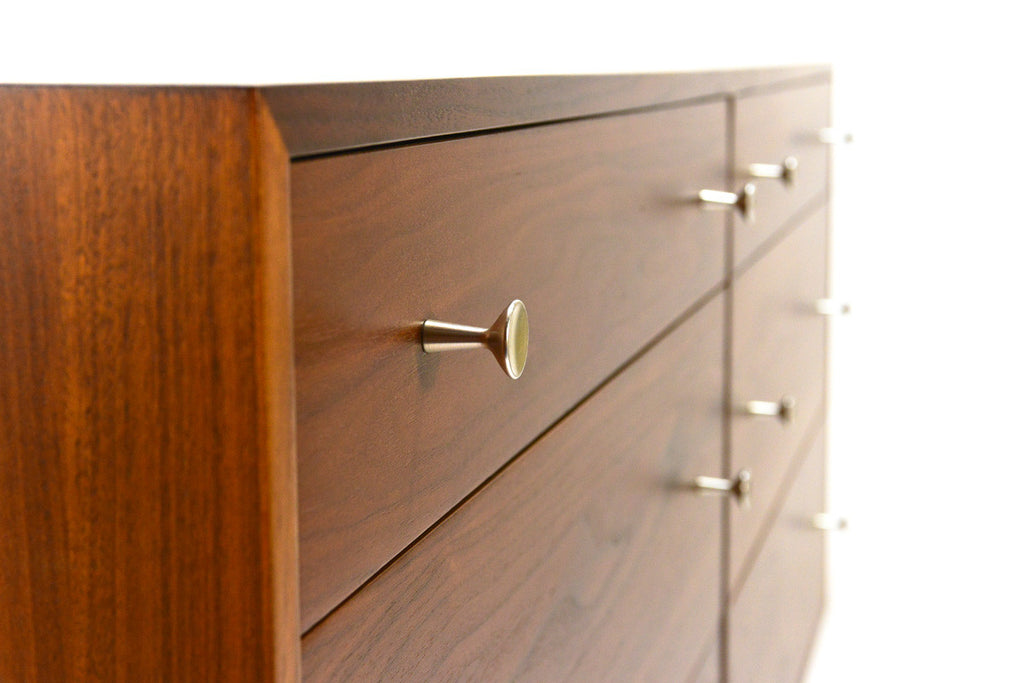 Walnut Dresser by Milo Baughman for Glenn of California